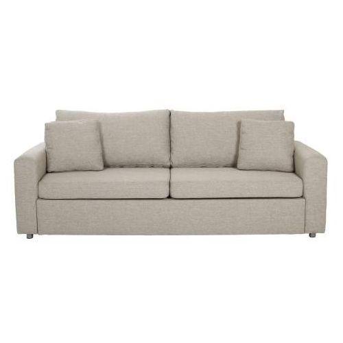 A.D. A.D. Glaze Sofa Rozkładana Beżowa Tkanina - 0000037362