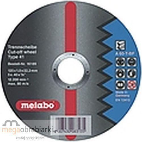 METABO Tarcza tnąca do stali 115 mm (25 szt) Flexiamant Super A 60-T RATY 0,5% NA CAŁY ASORTYMENT DZWOŃ 77 415 31 82 ze sklepu Megaobrabiarki - zaufaj specjalistom