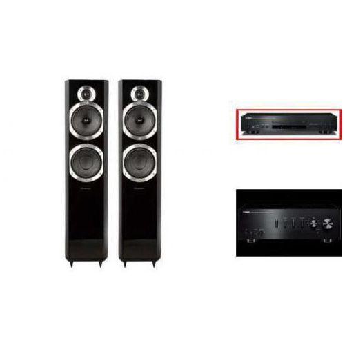 YAMAHA A-S301 + CD-S300 + WHARFEDALE 10.6 - wieża, zestaw hifi - zmontuj tanio swój zestaw na stronie