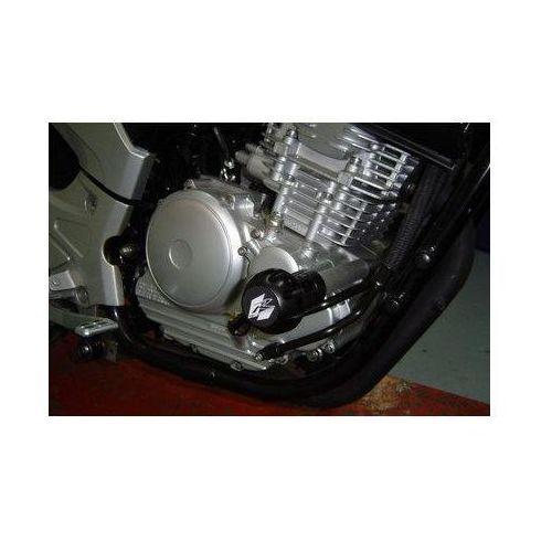 Puig y Yamaha YBR250; 2007-2010 (czarne) | TRANSPORT KURIEREM GRATIS z kat. crash pady motocyklowe