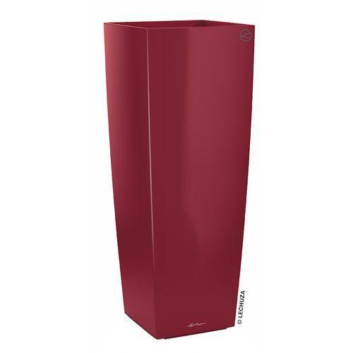 Donica Lechuza Cubico Alto czerwona scarlet red, produkt marki Produkty marki Lechuza