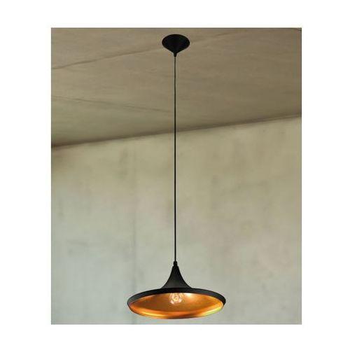 Nowoczesna LAMPA wisząca OPRAWA zwis DO salonu ORI Maxlight P0023 czarny - złoty - sprawdź w MLAMP.pl - Rozświetlamy Wnętrza