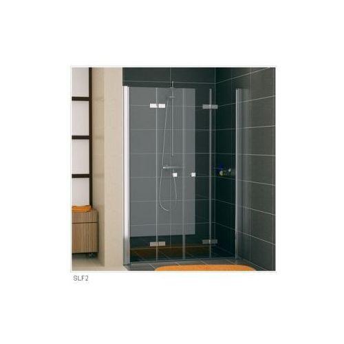 SANSWISS SWING F-LINE Drzwi dwuczęściowe składane SLF2 (drzwi prysznicowe)
