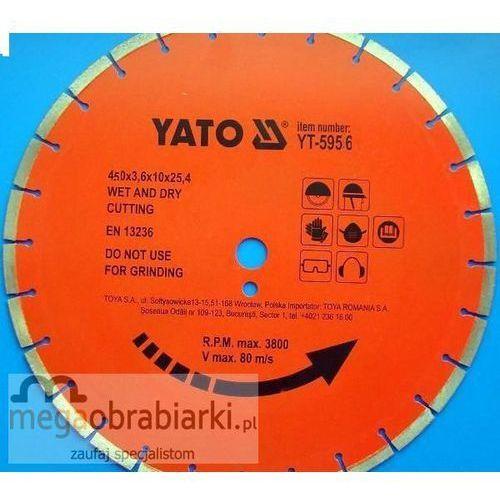 YATO Tarcza diamentowa do betonu fi 450 mm ze sklepu Megaobrabiarki - zaufaj specjalistom