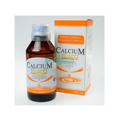 Calcium HASCO o sm.pomarańcz. syrop 115,6 mg jonów Ca/5ml 150 ml (butelka), postać leku: syrop