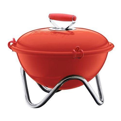 - grill piknikowy Fyrkat - czerwony - czerwony, produkt marki Bodum