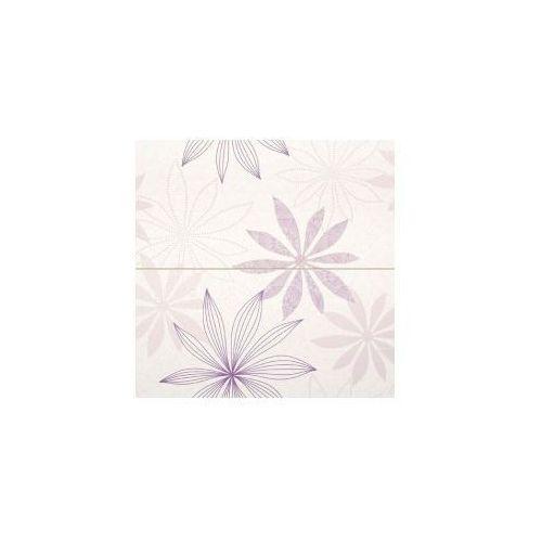 Tubądzin Dekor ścienny 2-elementowy Rosa 4 59,8x59,8 cm (glazura i terakota)