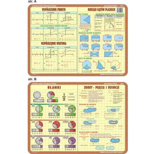 Matematyka - podkładka edukacyjna nr 027 - oferta [453fe00951e213e0]