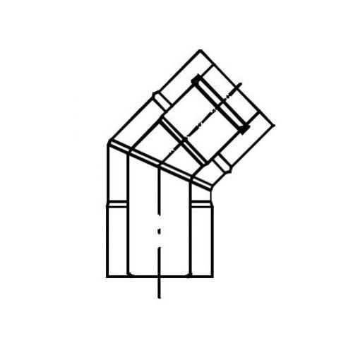 Oferta Termet Kolano koncentryczne 45° (80/125) z kat.: ogrzewanie
