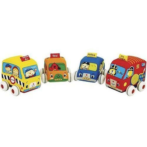 Zabawka KS KIDS Samochodziki z napędem (4 elementy) - produkt dostępny w Media Expert