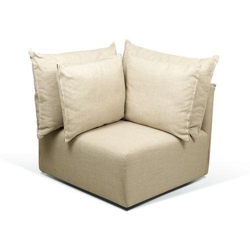 Dune Nowoczesna Sofa Element Narożnikowy Piaskowa 88cm - 9000-170355