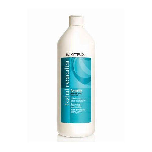 MATRIX TOTAL RESULTS AMPLIFY ODŻYWKA 1000ml OBJĘTOŚĆ,PUSZYSTOŚĆ I BLASK - produkt z kategorii- odżywki do włosów