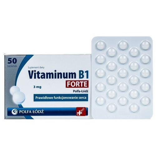 Vitaminum B1 Forte 3 mg 50 tabl., postać leku: tabletki