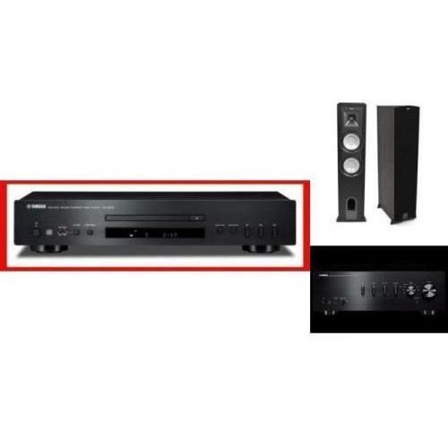 YAMAHA A-S301 + CD-S300 + KLIPSCH KF26 - wieża, zestaw hifi - zmontuj tanio swój zestaw na stronie