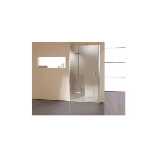 HUPPE ENJOY drzwi skrzydłowe ze stałym fragmentem do wnęki częściowo w ramie 3T0901 (drzwi prysznicowe)