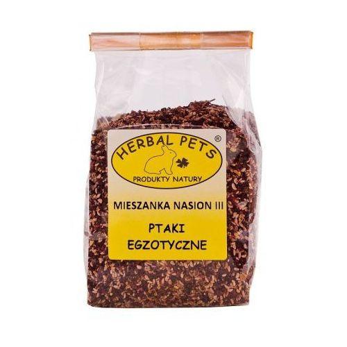Mieszanka nasion III 150g - uzupełniająca karma dla ptaków egzotycznych , Herbal Pets