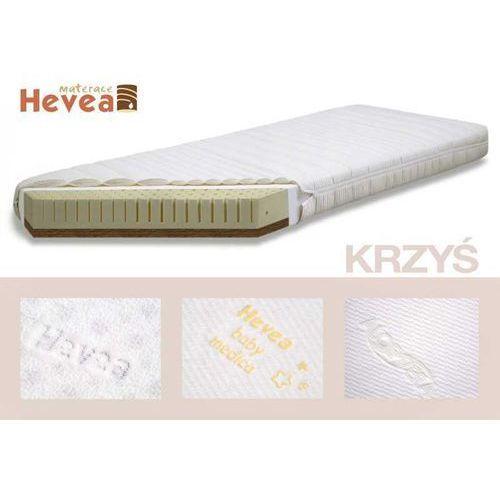 Produkt MATERAC HEVEA LATEKSOWO KOKOSOWY 60x120 Z POKROWCEM HEVEA