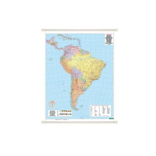 Ameryka Południowa mapa ścienna polityczno-fizyczna 1:8 000 000  & Berndt, produkt marki Freytag