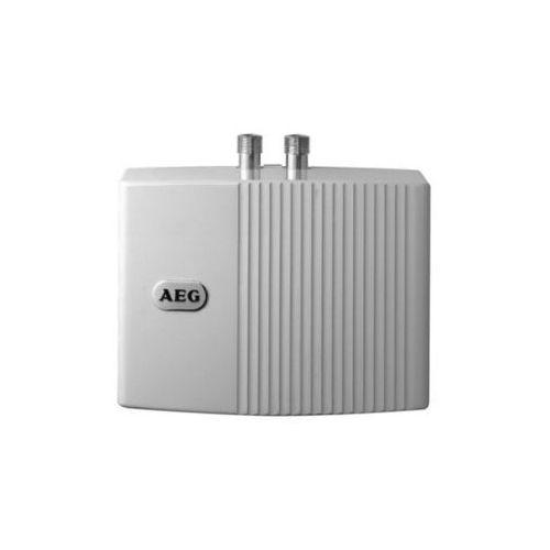 Mały ogrzewacz przepływowy MTH 440 OT (bezciśnieniowy) z armaturą ścienną