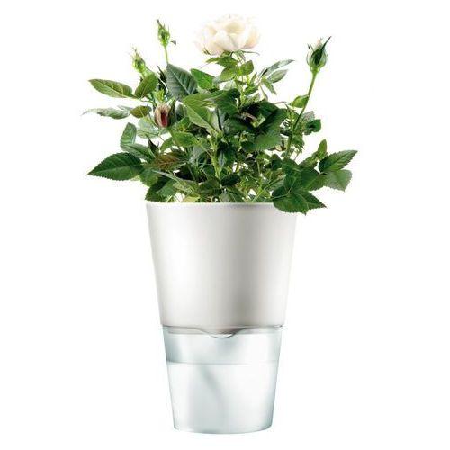 - Samopodlewająca doniczka - biała - 13 cm, produkt marki Eva Solo