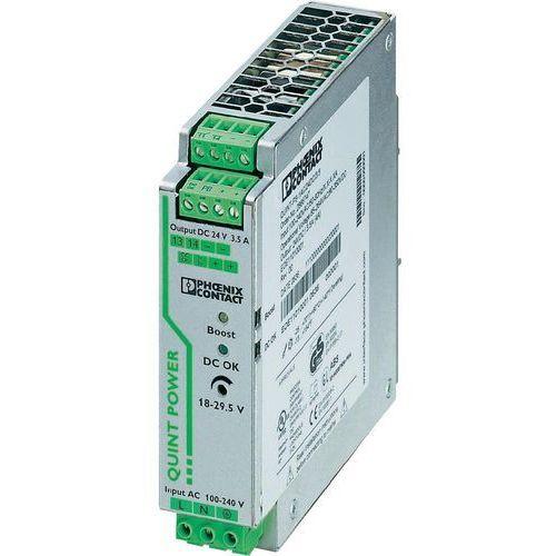 Artykuł Zasilacz na szynach Phoenix Contact QUINT-PS/1AC/24DC/3,5, 24 V, 3,5 A z kategorii transformatory