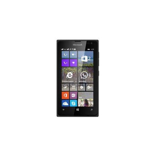 Microsoft Lumia 435 Dual SIM (czarna) - czarna - produkt z kategorii- Pozostałe oprogramowanie
