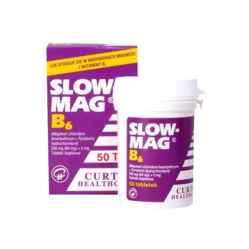 Slow-Mag B6 tabl. x 50, postać leku: tabletki