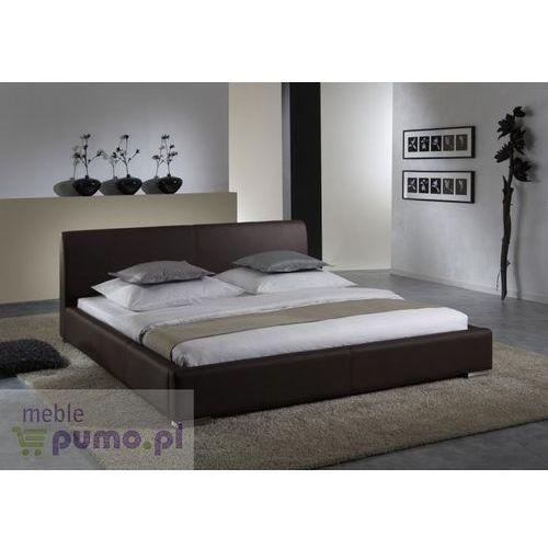 Komfortowe łóżko ALTINO w kolorze brązowym - 200 x 200cm ze sklepu Meble Pumo