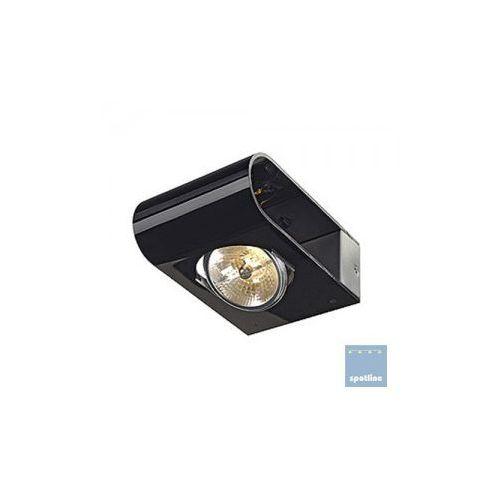 Spotline RETROSIX WALL QRB, lampa ścienna aluminium mat, czarny, max. 50W 147594 od immag - Zobacz świat w innym świetle...