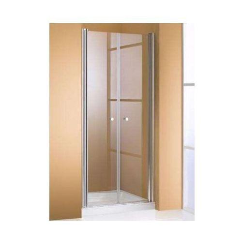 HUPPE 501 DESIGN pure 4-kąt drzwi wahadłowe do wnęki 510630 (drzwi prysznicowe)