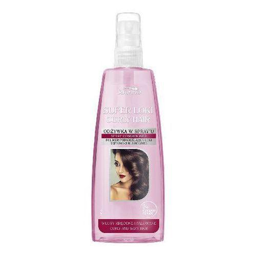 JOANNA SUPER LOKI ODŻYWKA-SPRAY DO WŁOSÓW KRĘCONYCH I FALOWANYCH 200ML - produkt z kategorii- odżywki do włosów