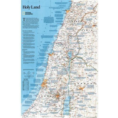 Ziemia Święta. Mapa ścienna Classic w ramie 1:405 500 wyd. , produkt marki National Geographic