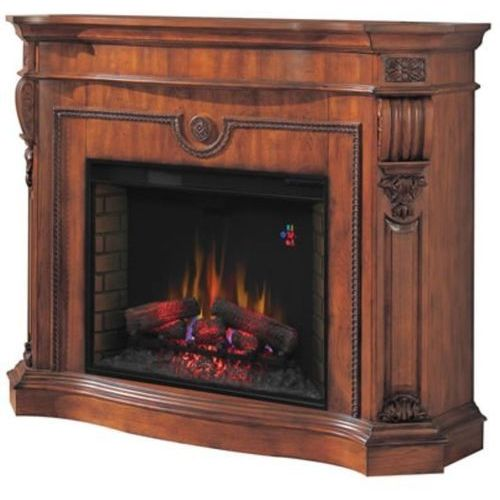 82839530 Kominek elektryczny z obudową Classic Flame Florence (kolor: wiśnia) - oferta [d598dba05fb313cc]