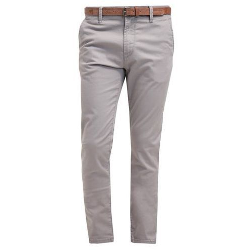 Tom Tailor Denim Chinosy steel grey - produkt z kategorii- spodnie męskie