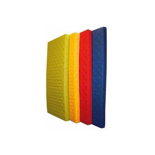 Żółty materac piankowy MEDIOLAN - 191x91x10 cm / Gwarancja 24m / NAJTAŃSZA WYSYŁKA !, produkt marki Halmar