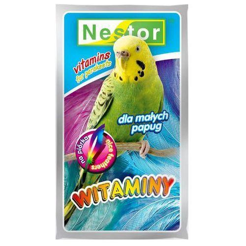 NESTOR 20g Witaminy w okresie pierzenia dla papużek falistych, Nestor
