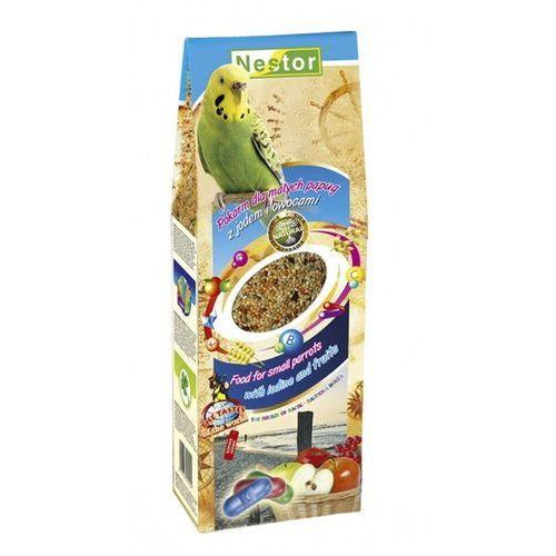 NESTOR Pokarm dla małych papug z jodem i owocami 700ml