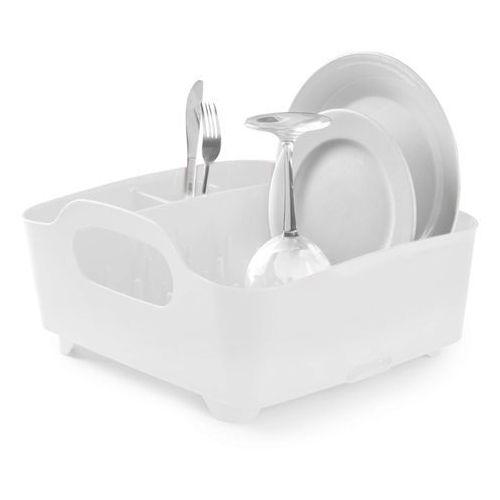 Ociekacz do naczyń Umbra Tub biały - produkt z kategorii- suszarki do naczyń