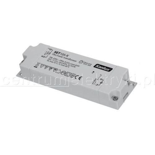 KANLUX SET105-K ZASILACZ ELEKTRONICZNY z kategorii Transformatory