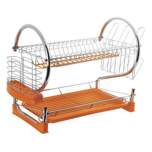 Suszarka do naczyń silikonowa pomarańczowa - produkt z kategorii- suszarki do naczyń
