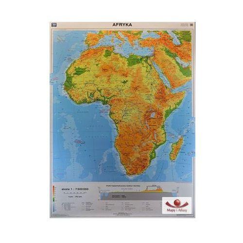 Afryka. Mapa ścienna Afryki ogólnogeograficzna / mapa do ćwiczeń, produkt marki Nowa Era