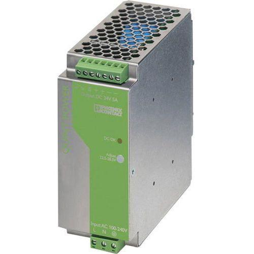 Zasilacz na szynę DIN Phoenix Contact QUINT-PS-100-240AC/24DC/5 2938581, 24 V/DC 5 A 120 W z kategorii Transf