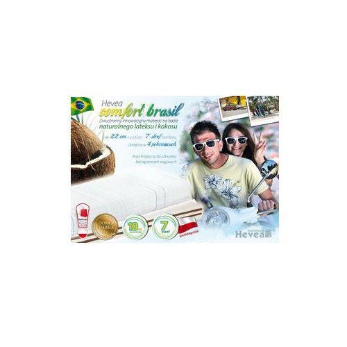 Materac lateksowo-kokosowy Hevea Brasil H4 TWARDY 140x200 - Bubumarket.pl od Bubumarket.pl