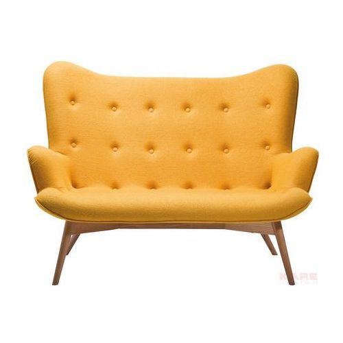 Kare design :: Sofa Angels Wings Yellow 2-Osobowa - żółty, Kare Design