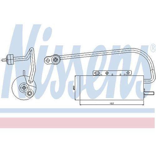 Towar z kategorii: osuszacze powietrza - Osuszacz, klimatyzacja NISSENS 95339