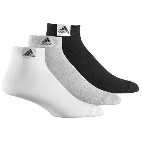 Produkt z kategorii- spodnie męskie - SKARPETY ADIDAS ANKLE PLAIN T 3P