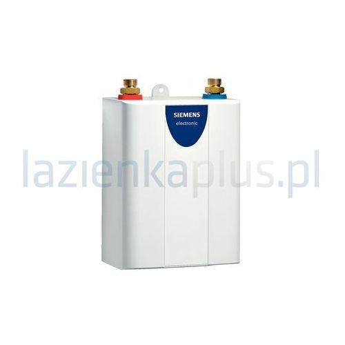 Ogrzewacz wody przepływowy kompaktowy sterowany elektronicznie  de 08101, marki Siemens