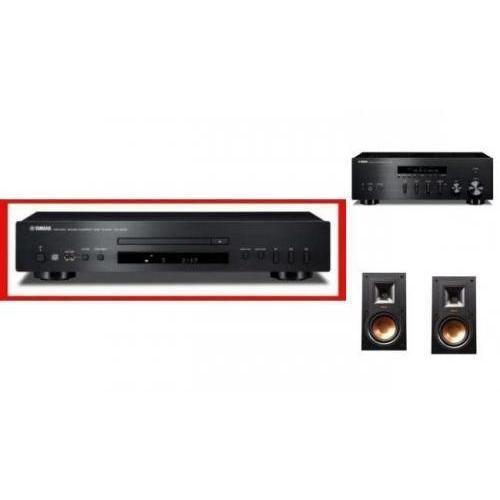 YAMAHA R-S300 + CD-S300 + KLIPSCH R-15M - wieża, zestaw hifi - zmontuj tanio swój zestaw na stronie