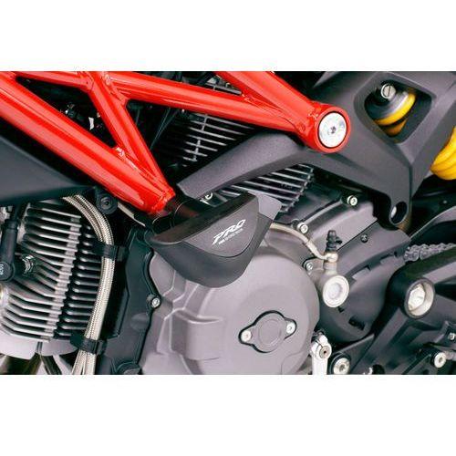 y PUIG do Ducati Monster 696 08-11 / 796 10-12 / 1100/1100S 09-12 (PRO) z kategorii crash pady motocyklowe
