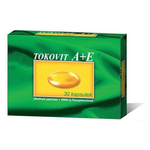 Tokovit A+E kaps.elast. 2500j.m.+70j.m. 30 kaps., postać leku: kapsułki